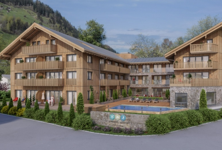 <strong>Elements Resort Zell am See</strong> Penthouse mit 4 Schlafzimmer